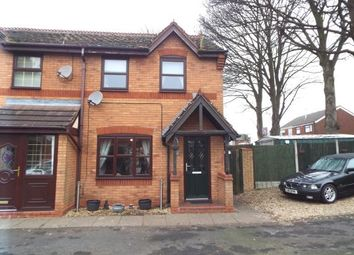 Thumbnail 3 bed end terrace house for sale in Blake Close, Cannock, Staffordshire
