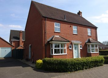Thumbnail 4 bed detached house for sale in Dereham Road, Easton, Norwich