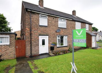 Thumbnail 3 bedroom semi-detached house for sale in Kidd Avenue, Sherburn Village, County Durham