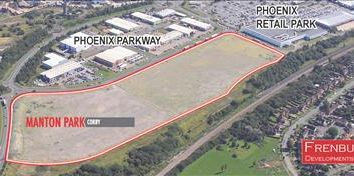 Thumbnail Commercial property for sale in Manton Park, Cockerell Road, Phoenix Parkway, Corby