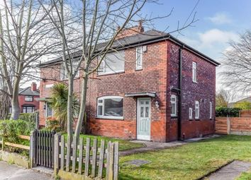 Thumbnail 3 bed semi-detached house for sale in Larmuth Avenue, Chorlton, Manchester, Greater Manchester
