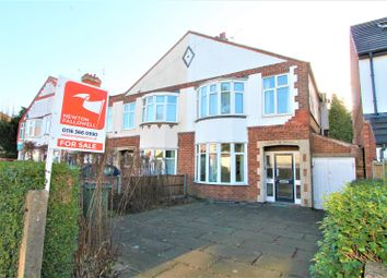 Thumbnail 3 bed semi-detached house for sale in Wigston Road, Oadby, Leicester