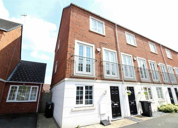 Thumbnail 3 bedroom town house for sale in Donnington Court, Capital Hill, Dudley