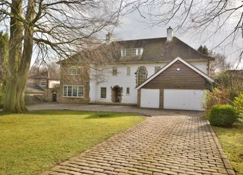 Thumbnail 6 bed detached house for sale in Green Trees, Ling Lane, Scarcroft, Leeds, West Yorkshire