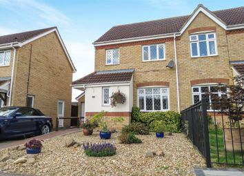Thumbnail 3 bed semi-detached house for sale in Berkeley Close, Biggleswade