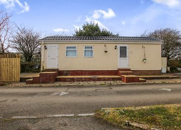 Thumbnail 1 bedroom bungalow for sale in Resugga Green Residential Homes Park, Resugga Green, St. Austell