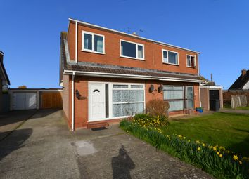 Thumbnail 3 bed semi-detached house for sale in Kinmel Way, Towyn