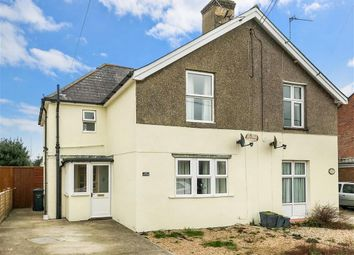 Thumbnail 3 bed semi-detached house for sale in Clayton Road, Freshwater, Isle Of Wight