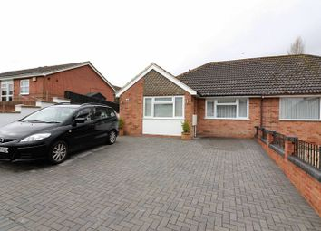 Thumbnail 3 bed semi-detached bungalow for sale in Windrush Road, Swindon