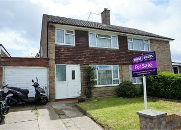 Thumbnail 3 bedroom semi-detached house for sale in Verbena Way, Hedge End