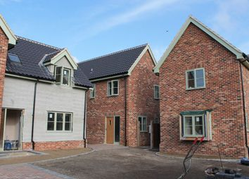 Thumbnail 3 bedroom detached house for sale in Pulham St Mary, Diss