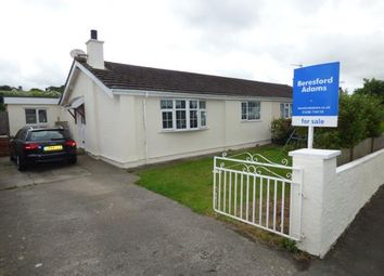 Thumbnail 3 bed bungalow for sale in Nant Y Felin, Pentraeth, Anglesey, North Wales