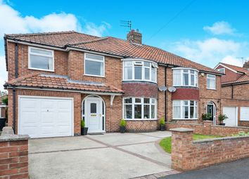 Thumbnail 4 bed semi-detached house for sale in Sitwell Grove, York