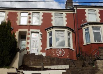 Thumbnail 3 bed terraced house for sale in Richmond Road, Sixbells, Abertillery. 2Pq.