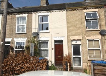 Thumbnail 2 bedroom terraced house to rent in Waldeck Road, Norwich