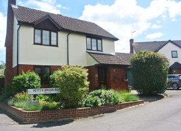 Thumbnail 4 bed detached house for sale in Pettys Brook Road, Chineham, Basingstoke