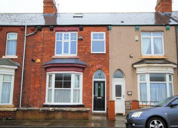 Thumbnail 3 bedroom terraced house to rent in Collingwood Road, Hartlepool