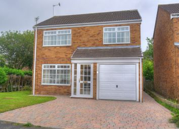 Thumbnail 4 bed detached house for sale in The Wynding, Bedlington