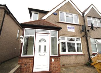 Thumbnail 3 bed end terrace house to rent in Crowland Avenue, Hayes