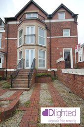 Thumbnail 2 bed flat to rent in Lawe Road, South Shields