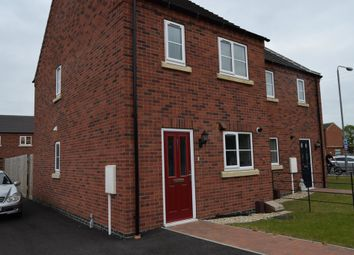 Thumbnail 2 bed end terrace house to rent in London Road, Fernwood, Newark