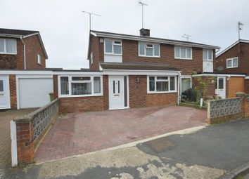 Thumbnail 3 bed semi-detached house for sale in Frensham Drive, Bletchley, Milton Keynes
