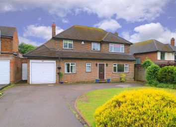 Thumbnail 4 bed detached house for sale in Newberries Avenue, Radlett