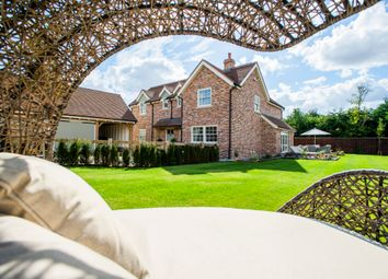 Thumbnail 4 bedroom detached house for sale in Little Brook, Potton Road, Royston