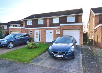 Thumbnail 3 bed semi-detached house for sale in Castle Hill Drive, Brockworth, Gloucester, Gloucestershire