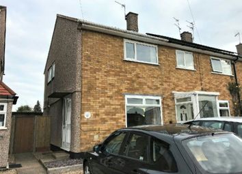 Thumbnail 2 bedroom semi-detached house to rent in Monmouth Drive, Eyres Monsell, Leics.