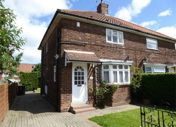 Thumbnail 3 bedroom semi-detached house for sale in Ouseburn Avenue, Off Beckfield Lane, York