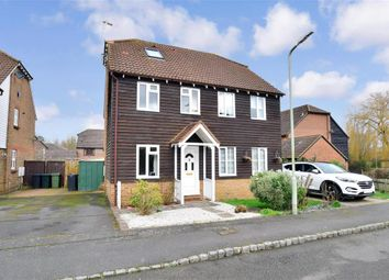 Thumbnail 3 bed semi-detached house for sale in The Bulrushes, Ashford, Kent