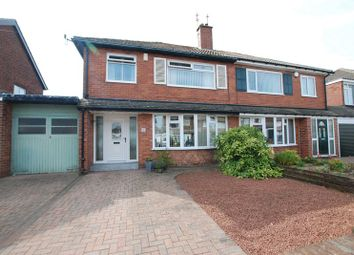 Thumbnail 3 bed semi-detached house for sale in Holystone Avenue, Gosforth, Newcastle Upon Tyne