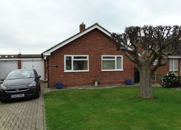 Thumbnail 2 bed detached bungalow for sale in Park Crescent, Selsey, Chichester