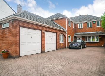 Thumbnail 5 bed detached house for sale in Hinckley Road, Leicester