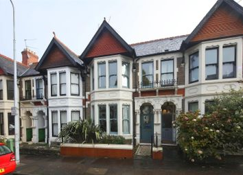 Thumbnail 4 bed terraced house for sale in Shirley Road, Roath Park, Cardiff