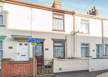 Thumbnail 2 bed end terrace house for sale in Norwich Road, Lowestoft