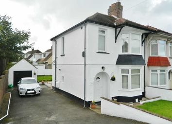 Thumbnail 3 bed semi-detached house for sale in Middle Road, Ravenhill, Swansea