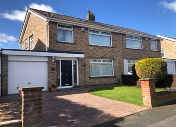 Thumbnail 3 bed semi-detached house for sale in Sadberge Grove, Fairfield, Stockton-On-Tees