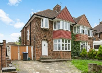 Thumbnail 3 bed semi-detached house for sale in Salmon Street, Kingsbury, London