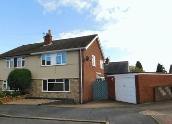 Thumbnail 3 bed semi-detached house for sale in Avery Drive, Markfield