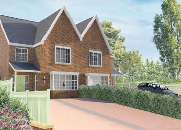 Thumbnail 4 bed semi-detached house for sale in Styal Road, Wilmslow