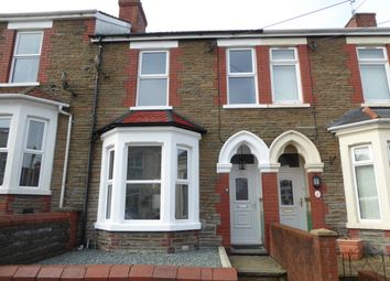 Thumbnail 3 bedroom terraced house for sale in Princes Avenue, Caerphilly