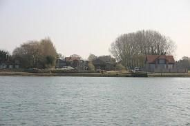 Thumbnail Land to let in Burns Shipyard, Windmill Fields, Bosham, West Sussex