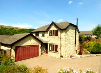 Thumbnail 4 bed detached house for sale in Hollinwood Drive, Rawtenstall, Rossendale