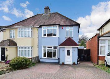 3 bed semi-detached house for sale in Hillside Avenue, Gravesend, Kent DA12