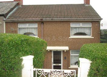 Thumbnail 3 bed end terrace house for sale in Fflorens Road, Newbridge, Newport, Gwent.