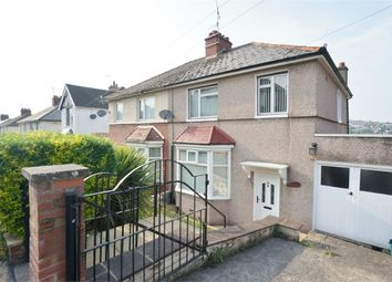 Thumbnail 3 bed semi-detached house for sale in Caerleon Road, Newport