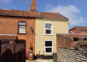Thumbnail 2 bedroom end terrace house to rent in Cromer Road, North Walsham