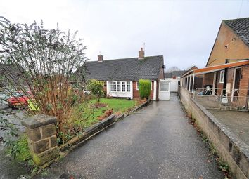 Thumbnail 1 bed semi-detached bungalow for sale in Deneside, Newcastle, Staffs